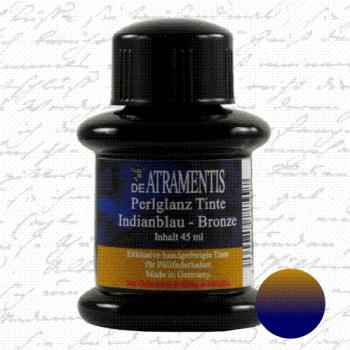 Pearlscent InkIndian Blue Bronze