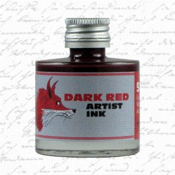 Artist Ink DARK RED