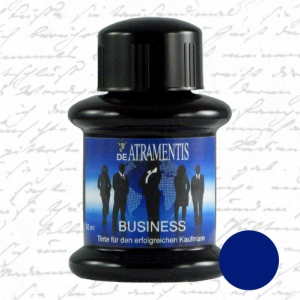 Business ink for successful businessman