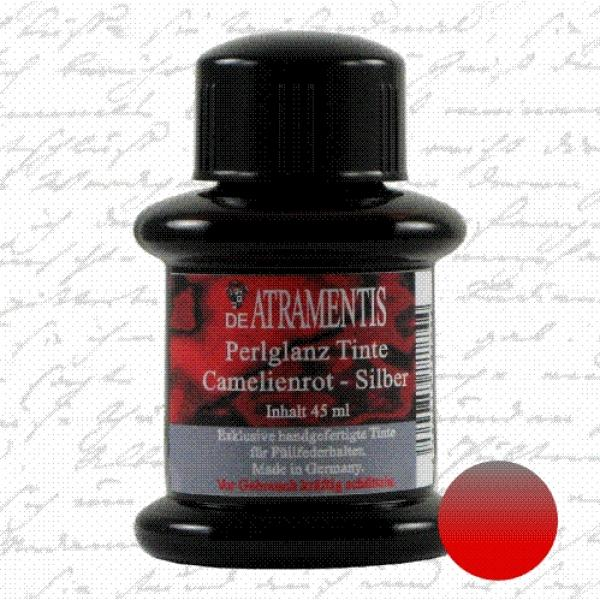 Pearlscent Ink Camlien Red Silver