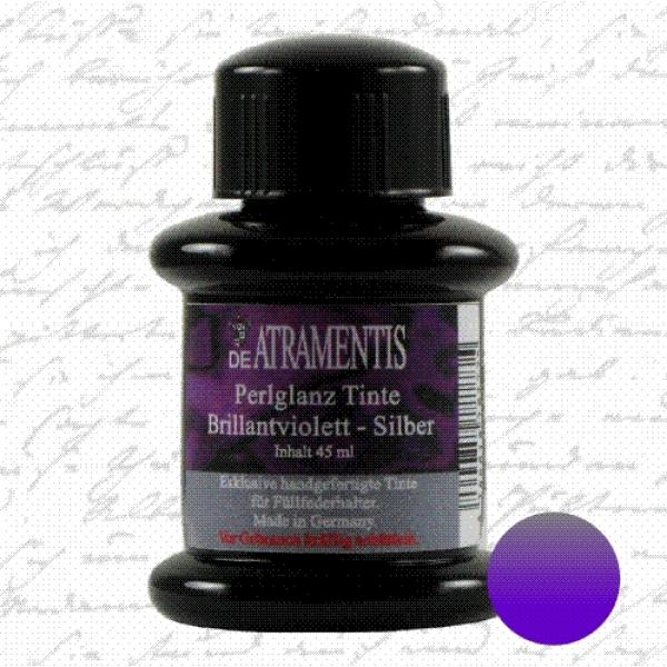 Pearlscent Ink Brillant Violet Silver
